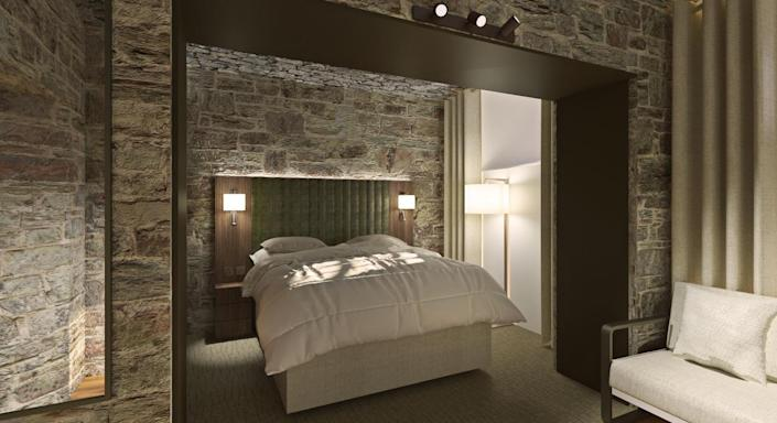 One of the 70 new rooms inside the Bodmin Jail Hotel (Bodmin Jail Hotel)