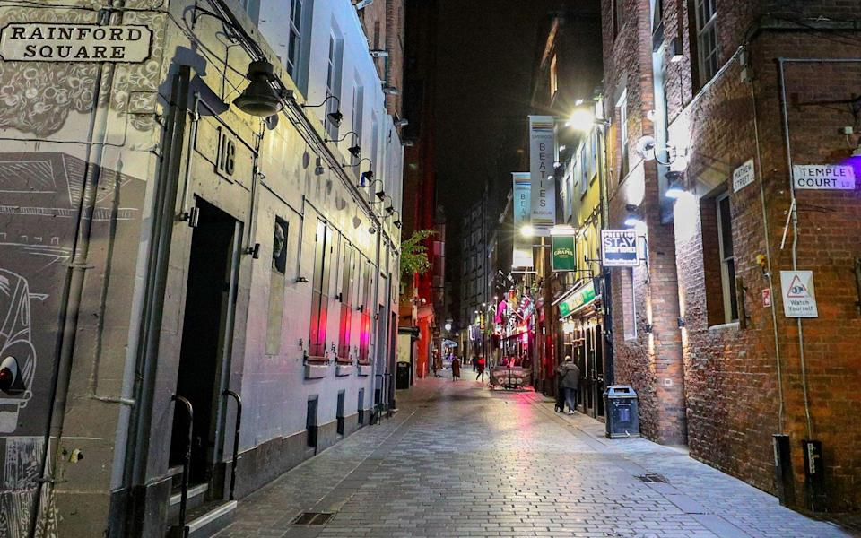 It is expected that pubs and bars will close in areas under the tightest restrictions, which are set to include Liverpool - Peter Byrne/PA