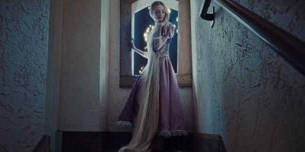 PHOTO: Sarah Ingle wore 8-foot extensions to play Rapunzel in her live-action 'Tangled' video. (Sarah Ingle)