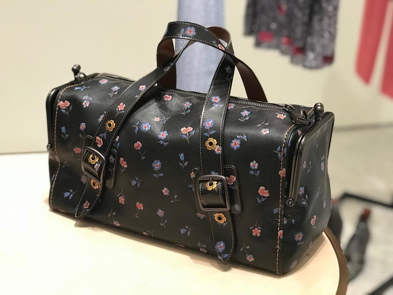 <p>Items from the Coach Spring 2018 collection. (Photo: Yahoo Lifestyle Singapore) </p>