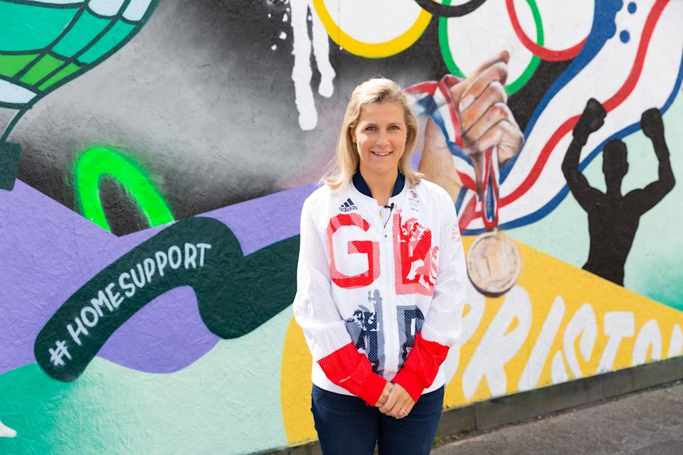 Twigg, 30, is working with Purplebricks to encourage the nation to get behind Team GB on their journey to Tokyo