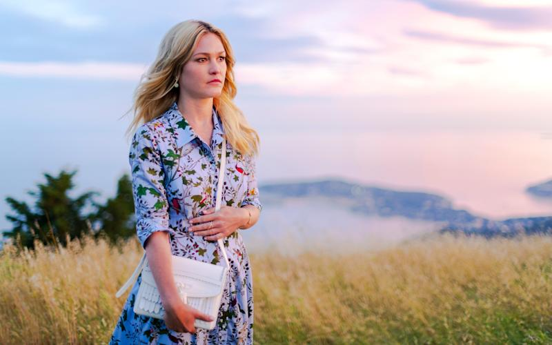 Julia Stiles returned for a second run of Sky's glamorous series Riviera - ©Sky UK Limited