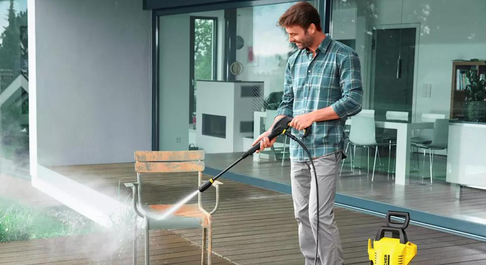 This pressure-washer will get your garden summer-ready. (Kärcher)