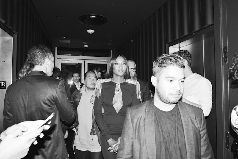 Naomi Campbell at Mert Alas and Marcus Piggott's book launch party at the Public Hotel.