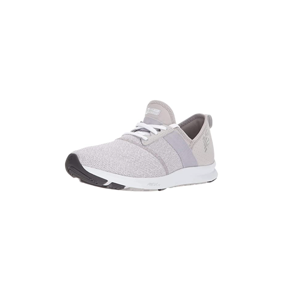 """<p><strong>New Balance</strong></p><p>amazon.com</p><p><strong>$49.99</strong></p><p><a href=""""https://www.amazon.com/dp/B005ATND1O?tag=syn-yahoo-20&ascsubtag=%5Bartid%7C10055.g.35000690%5Bsrc%7Cyahoo-us"""" rel=""""nofollow noopener"""" target=""""_blank"""" data-ylk=""""slk:Shop Now"""" class=""""link rapid-noclick-resp"""">Shop Now</a></p><p>""""These sneakers were best of the test in our <a href=""""https://www.goodhousekeeping.com/health-products/g26960479/best-walking-shoes-for-women/"""" rel=""""nofollow noopener"""" target=""""_blank"""" data-ylk=""""slk:walking sneaker test"""" class=""""link rapid-noclick-resp"""">walking sneaker test</a>,"""" says Sachs. """"They were popular for being <strong>super comfortable, which is perfect for 2020 as everyone is walking a lot more</strong> (sneaker sales have been crazy during the pandemic!). Plus, they're affordable, available in a variety of stylish shades, and have over 20,000 rave Amazon reviews.""""</p>"""