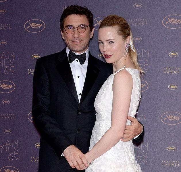 Melissa George and Jean-David Blanc. Source: Getty Images.