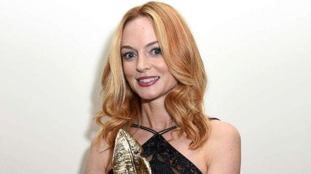 PHOTO: Heather Graham receives the Virtuoso Award at the San Diego International Film Festival 2017, Oct. 4, 2017, in San Diego, Calif. (Vivien Killilea/Getty Images)