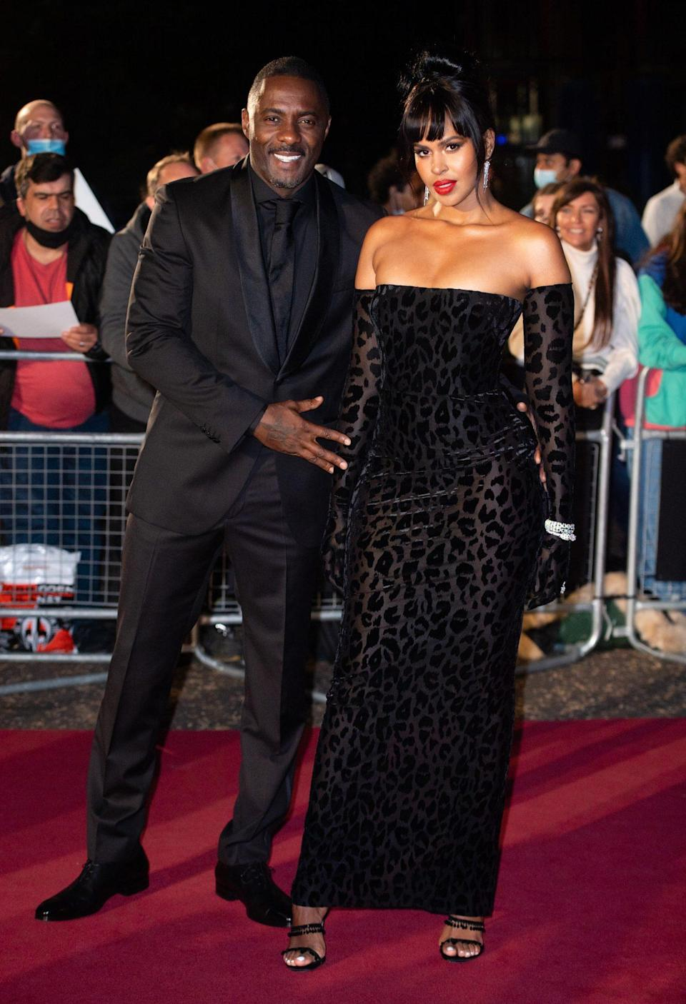 <p>Idris and Sabrina Elba attend the 2021 GQ Men of the Year Awards at Tate Modern on Sept. 1 in London.</p>