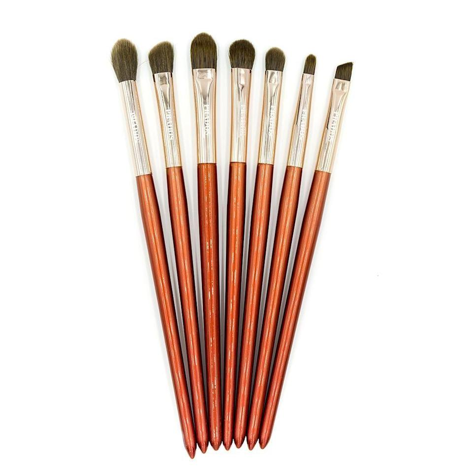 """<p><strong>Prados Beauty</strong></p><p>pradosbeauty.com </p><p><strong>$35.00</strong></p><p><a href=""""https://pradosbeauty.com/collections/brushes/products/sedona"""" rel=""""nofollow noopener"""" target=""""_blank"""" data-ylk=""""slk:Shop Now"""" class=""""link rapid-noclick-resp"""">Shop Now</a></p><p>Xicana and Indigenous founder and CEO <a href=""""https://pradosbeauty.com/pages/about"""" rel=""""nofollow noopener"""" target=""""_blank"""" data-ylk=""""slk:Cece Meadows"""" class=""""link rapid-noclick-resp"""">Cece Meadows</a> infuses her own multicultural background into <a href=""""https://www.instagram.com/pradosbeauty/"""" rel=""""nofollow noopener"""" target=""""_blank"""" data-ylk=""""slk:Prados Beauty"""" class=""""link rapid-noclick-resp"""">Prados Beauty</a> and the product design. You'll find everything from brushes to palettes and lashes. </p>"""