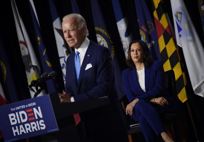 Biden says Harris is 'proven fighter for backbone of country': Getty
