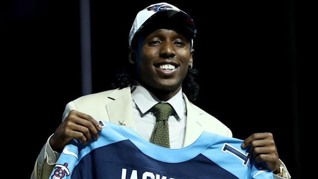 Adoree' Jackson is hyped to be in a video game.