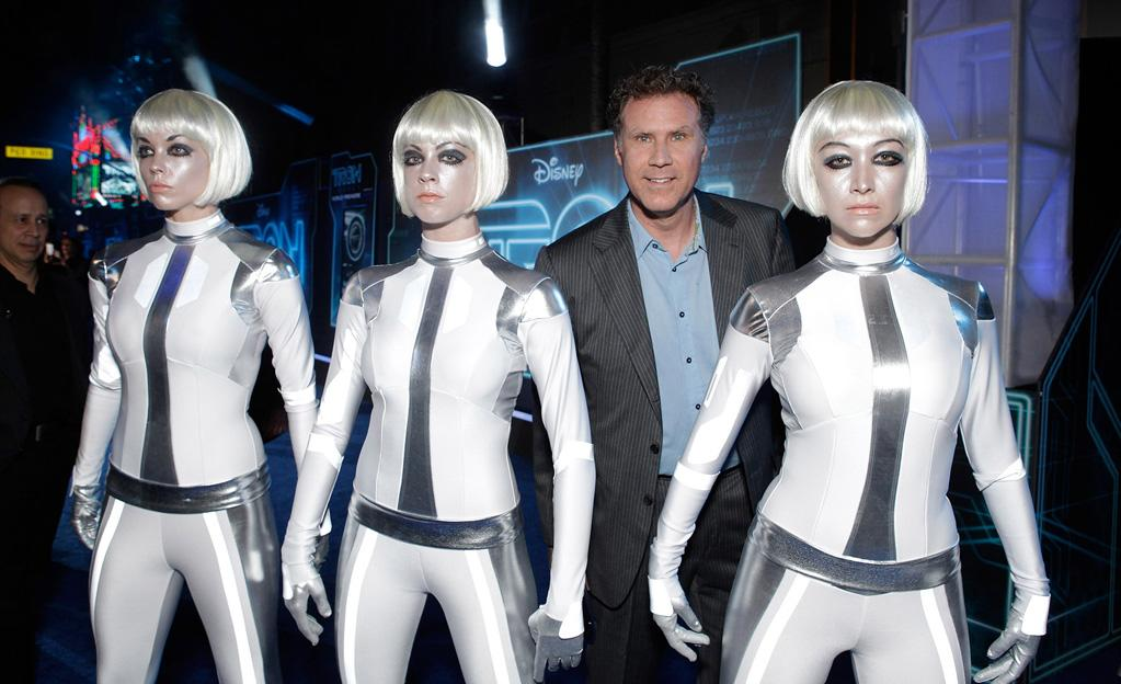 "<a href=""http://movies.yahoo.com/movie/contributor/1800019430"">Will Ferrell</a> attends the Los Angeles premiere of <a href=""http://movies.yahoo.com/movie/1810096458/info"">TRON: Legacy</a> on December 11, 2010."