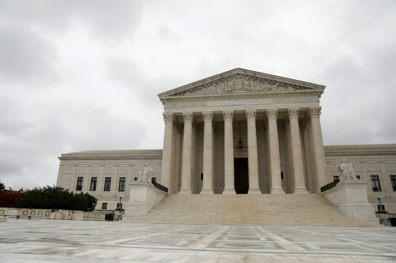 FILE PHOTO: The Supreme Court of the United States is seen in Washington, D.C.