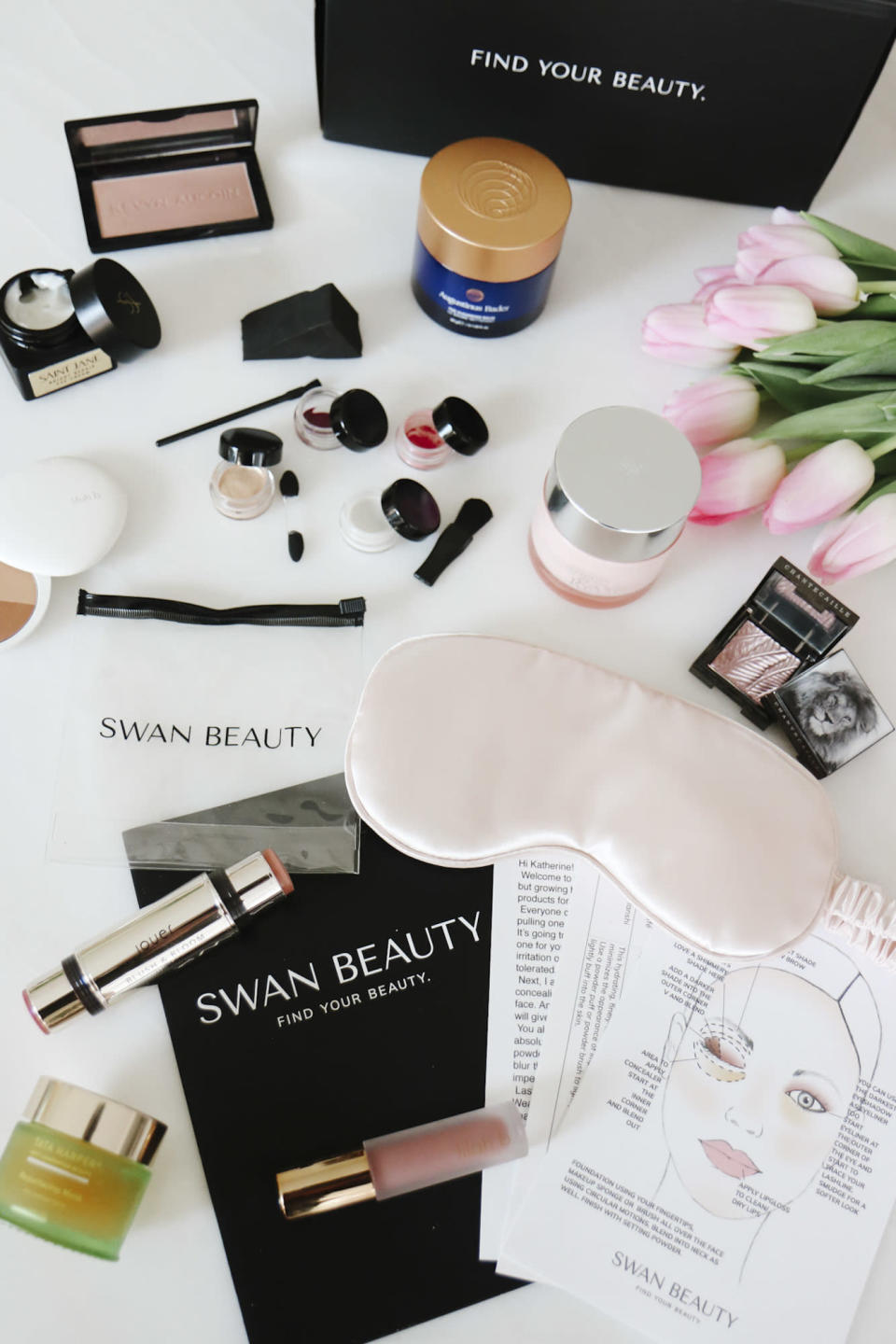 """<p>If you are looking for the ultimate in thoughtful, luxurious, personalized Mother's Day gifts, we've found a winner. Let Swan Beauty's experts devise the <a href=""""https://swanbeauty.com/"""" rel=""""nofollow noopener"""" target=""""_blank"""" data-ylk=""""slk:perfect beauty routine"""" class=""""link rapid-noclick-resp"""">perfect beauty routine</a> for mom (or any of the special women in your life) based on her budget, skin type, and preferred brands. Best of all: She can test out her box of curated products before you buy.</p> <p><strong>$75-$660, <a href=""""https://swanbeauty.com/"""" rel=""""nofollow noopener"""" target=""""_blank"""" data-ylk=""""slk:swanbeauty.com"""" class=""""link rapid-noclick-resp"""">swanbeauty.com</a></strong></p> <p><strong>*Use discount code SWANLOVESMOMS to receive a</strong><strong> Free Silk Eye Mask + 15% </strong></p>"""