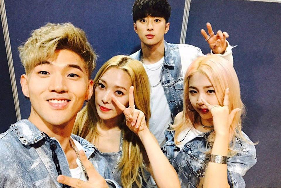 KARD, photo via The Korea Herald