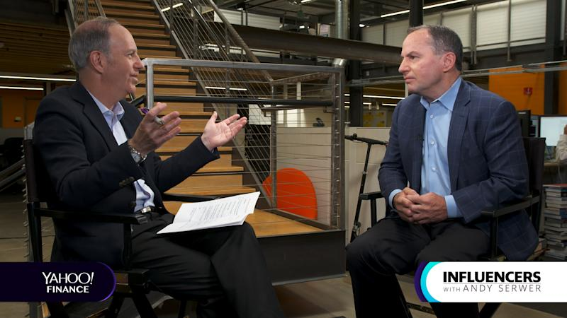 Intel CEO Bob Swan appears on Influencers with Andy Serwer.