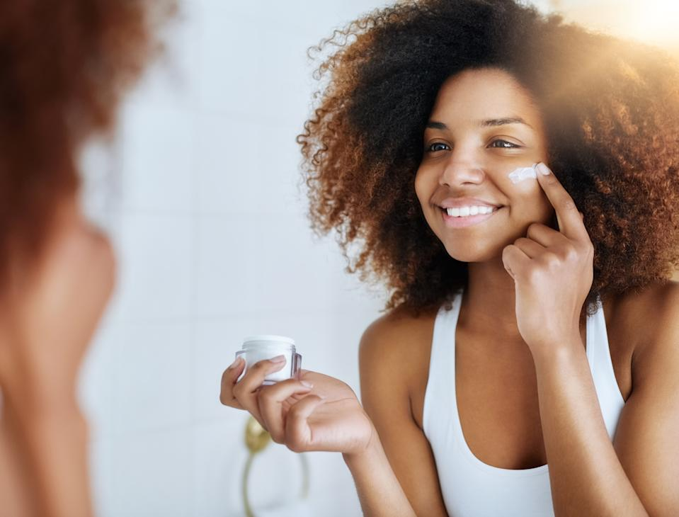 Olay has pledged to stop retouching its models by the end of the year. (Stock photo via Getty Images)