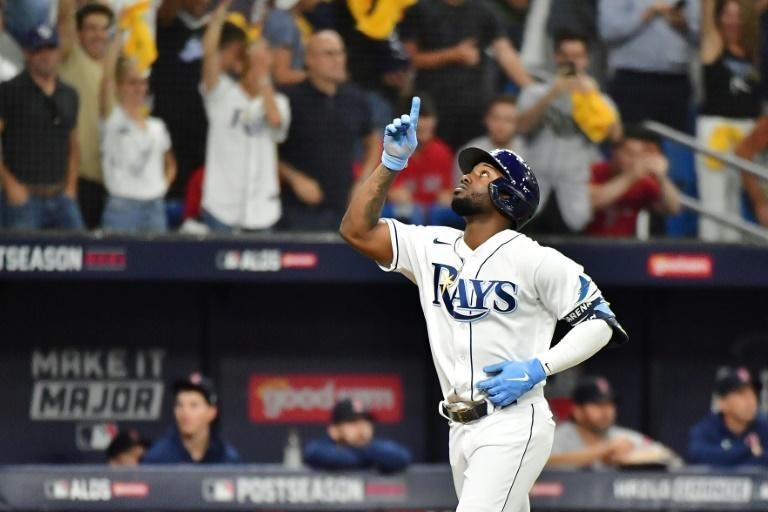 Tampa Bay Rays star Randy Arozarena is one of many Cuban players to find Major League stardom (AFP/Julio Aguilar)