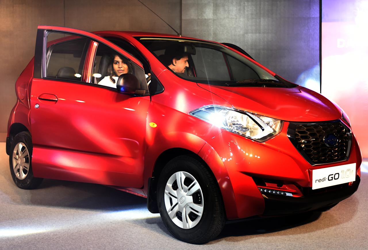 <p>Datsun redi-Go 1 litre was launched in July at a starting price of Rs 3.57 lakh. </p>
