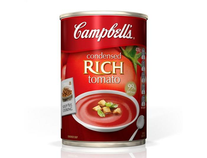 A can of soup.