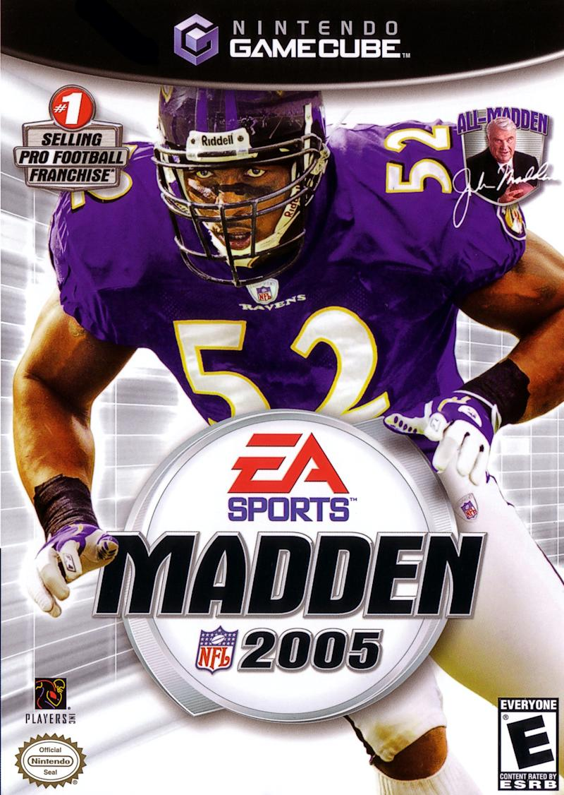 Madden 2005 cover (via EA Sports/Nintendo)