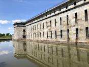 """<p><strong>Fort Delaware - Delaware City, DE</strong></p><p>The former harbor defense facility, built in the mid-1800s, also served as a prisoner-of-war camp during the Civil War. Many men lost their lives in the fort, and a slew of paranormal reality shows have investigated the property. </p><p>Photo: Flickr/<a href=""""https://www.flickr.com/photos/jerryhendricks/28152251787/in/photolist-JTHDDv-CNXuE-cxLwMG-cy5R6y-cPYr81-cPYrGQ-8jTEVi-cR9RNL-cPYucY-n9TsuR-cPYs4o-PYf3vQ-acUJGn-9T79MH-cxLrc1-cxLrBN-8jURrN-7GtD85-cxLqfo-9T2iTe-7GpBQg-cPYtmC-cPYqS7-fD8uCc-7GtCRo-28T1D6Y-cPYrmf-cPYqgJ-7GpCz4-9STLbf-cxLugo-cy5Uyh-CNWni-2vHgAw-cxLt4q-N4urhj-cxLsdu-7GpGxR-cPYqmj-9SUJ7W-cR9SVf-cPYrBY-9SRqDi-cxLx41-cy5F37-7qYztG-cxLts1-8jUVmQ-CNXuy-2vHgmo"""" rel=""""nofollow noopener"""" target=""""_blank"""" data-ylk=""""slk:Jerry Hendricks"""" class=""""link rapid-noclick-resp"""">Jerry Hendricks</a></p>"""