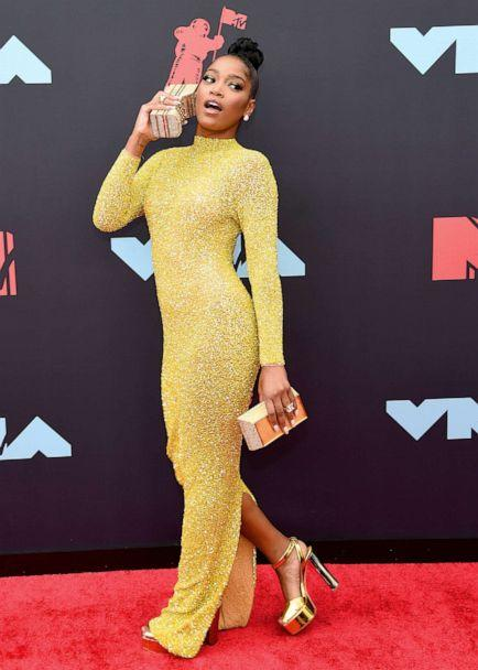 PHOTO: Keke Palmer attends the 2019 MTV Video Music Awards at Prudential Center on Aug. 26, 2019 in Newark, N.J. (Jamie Mccarthy/Getty Images)
