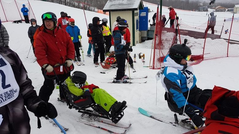 'I like to go fast': 14-year-old blind skier doesn't let his disability stand in the way