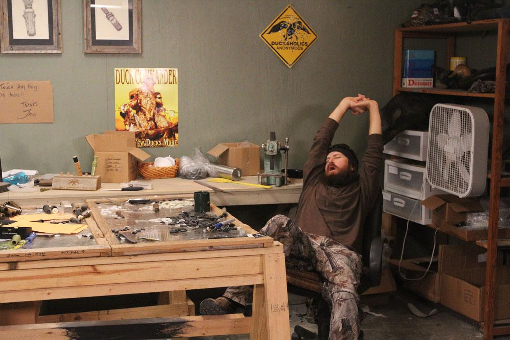 """Jase Robertson in the """"Duck Dynasty"""" Season 3 episode, """"Duck Be a Lady."""""""