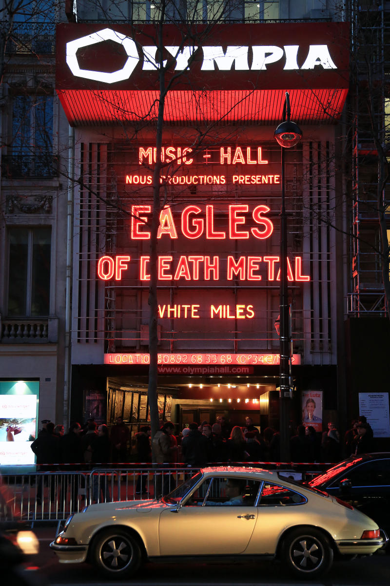 Eagles of Death Metal at the Olympia theater.