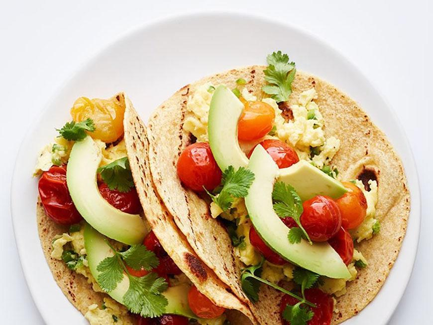 """<p>Flavorful, roasted tomatoes really take these tacos to another level—and they only take 10 minutes to make.</p> <p>Get the recipe <a href=""""https://www.self.com/recipe/roasted-tomato-breakfast-tacos?mbid=synd_yahoo_rss"""" rel=""""nofollow noopener"""" target=""""_blank"""" data-ylk=""""slk:here"""" class=""""link rapid-noclick-resp"""">here</a>.</p>"""