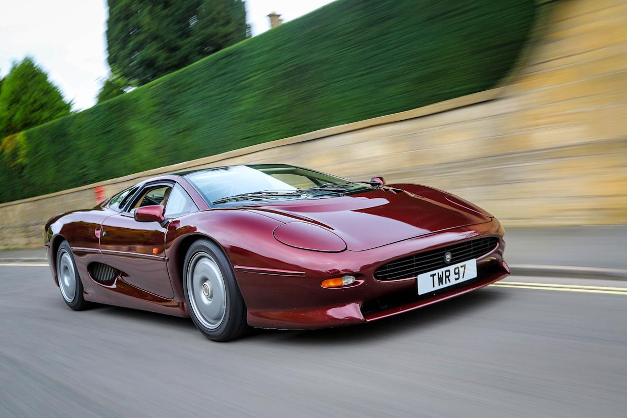 The XJ220 was one of the fastest production cars ever made