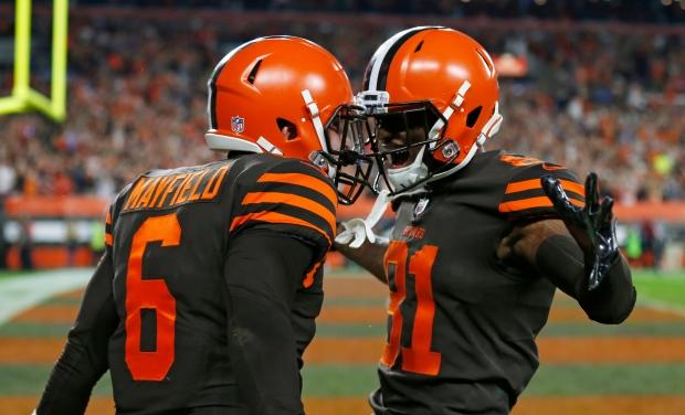 'I'm just getting started': Baker Mayfield leads Browns to 1st win in 635 days