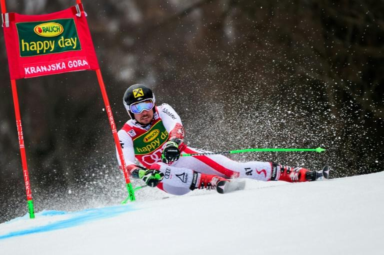 Gross leads slalom World Cup, Hirscher poised to take title