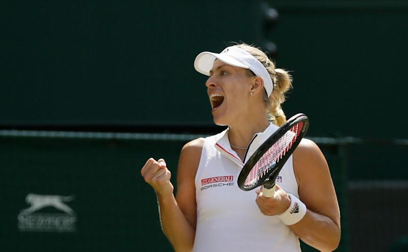 Kerber began the second set strongly, winning the first three games to take the score to 3-0. Ostapenko attempted to stage a comeback, but was quickly seen off by the experienced German. AP