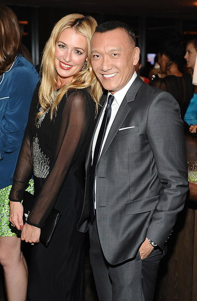 WEST HOLLYWOOD, CA - JANUARY 24:  TV personality Cat Deeley (L) and ELLE Creative Director Joe Zee attends the ELLE's Women in Television Celebration at Soho House on January 24, 2013 in West Hollywood, California.  (Photo by Stefanie Keenan/Getty Images for ELLE)