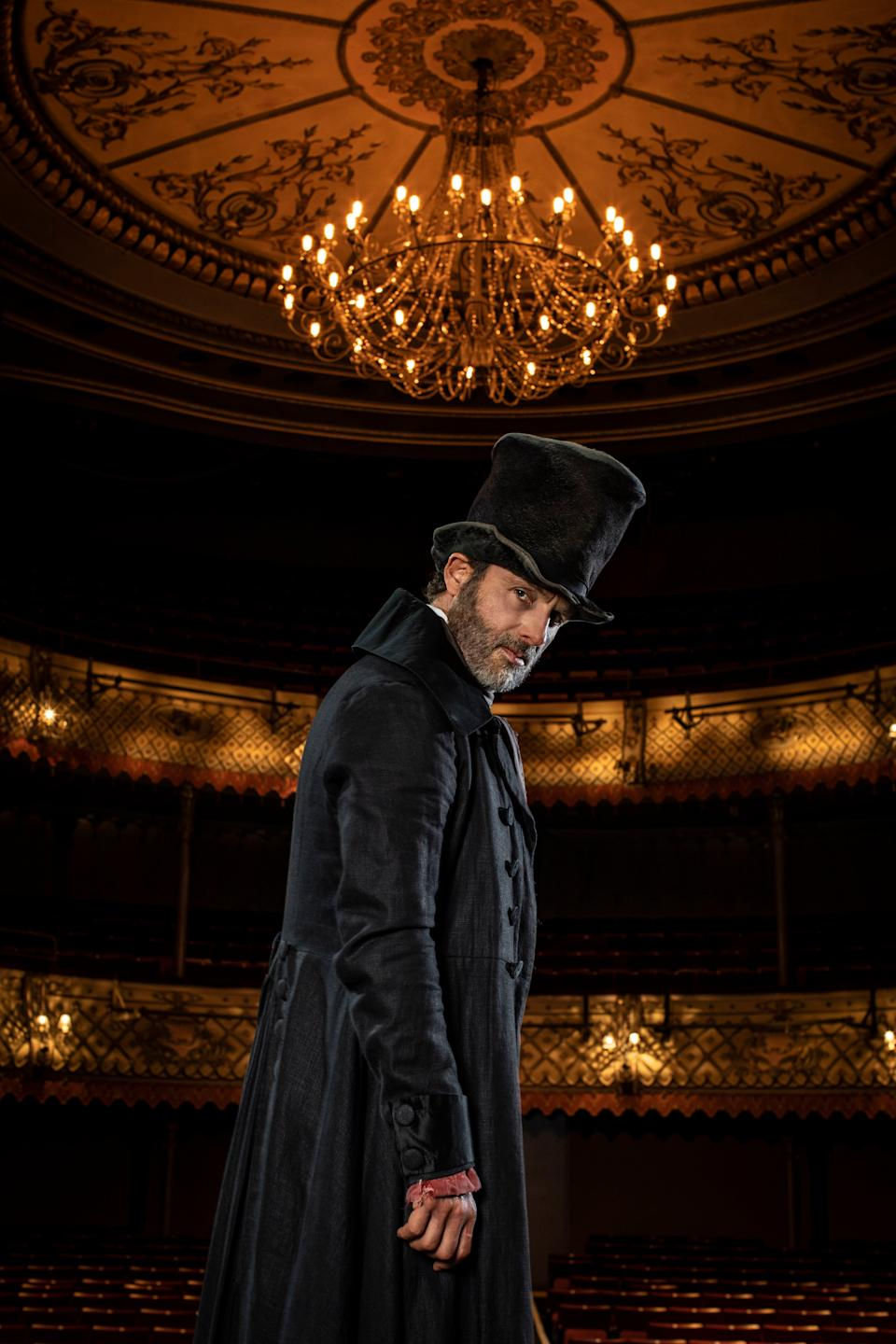Andrew Lincoln in A Christmas Carol at the Old VicPA
