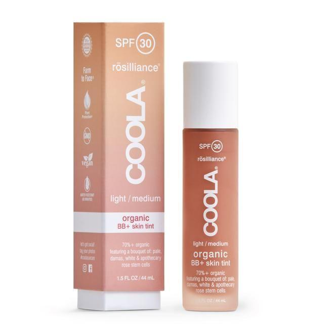 "<p><strong>Coola</strong></p><p>coola.com</p><p><strong>$52.00</strong></p><p><a href=""https://coola.com/products/mineral-face-spf-30-rosilliance-tinted-organic-sunscreen-lotion"" rel=""nofollow noopener"" target=""_blank"" data-ylk=""slk:Shop Now"" class=""link rapid-noclick-resp"">Shop Now</a></p><p>Coola's vegan BB cream offers the best of three worlds: mineral and broad-spectrum SPF 30, tone-perfecting coverage that looks natural, and hydrating rose stem cells.</p>"