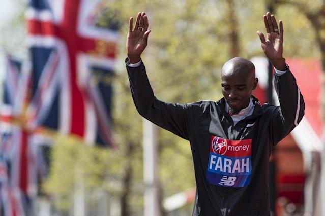 Farah finished third in this year's London Marathon: Justin Setterfield/Getty Images