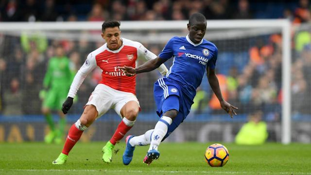 Mesut Ozil and Alexis Sanchez overlooked, as Arsenal's Laurent Koscielny says N'Golo Kante is the best player in the Premier League.