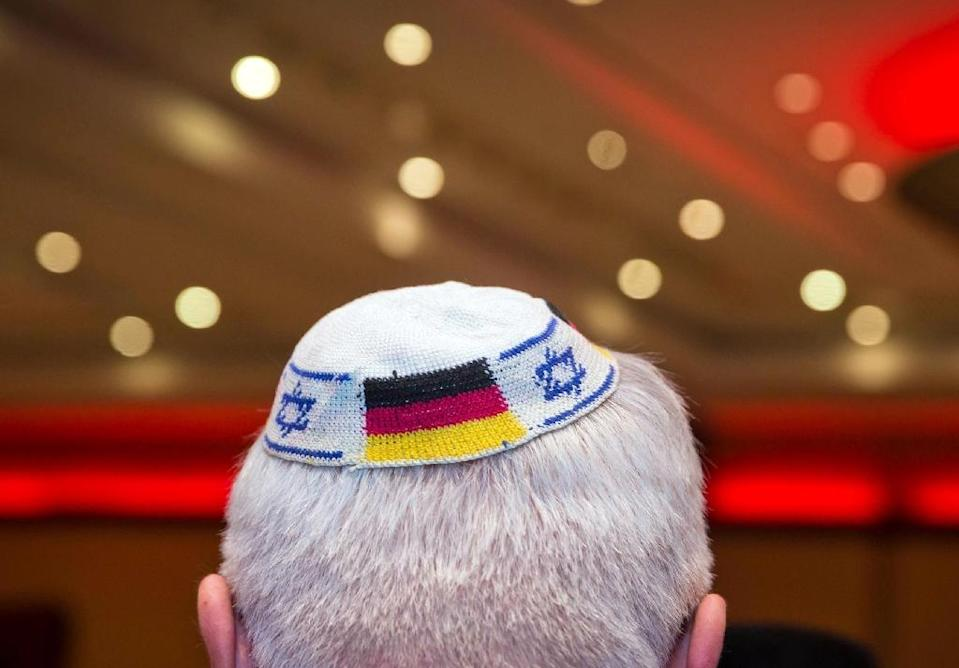 "The German government's commissioner on anti-Semitism Felix Klein sparked alarm when he said in a recent interview that he ""cannot advise Jews to wear the kippa everywhere all the time in Germany"" (AFP Photo/Frank Rumpenhorst)"