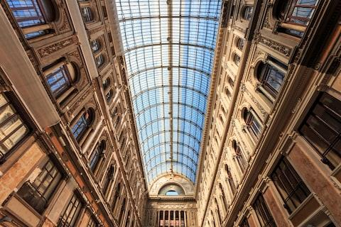 Galleria Umberto I - Credit: getty