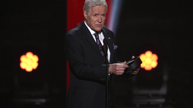 'Jeopardy!' Host Alex Trebek Gets Standing Ovation at NHL Awards
