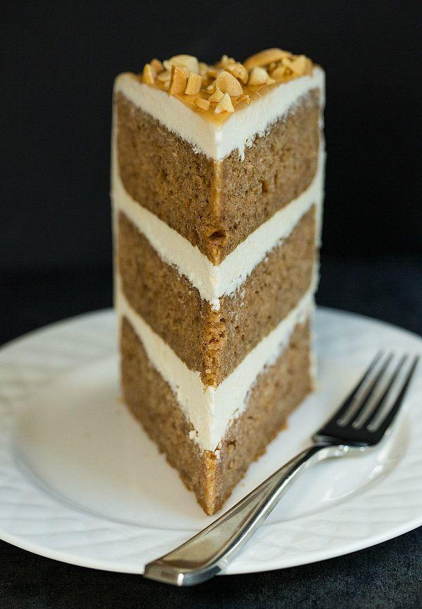 "<strong>Get the <a href=""http://www.browneyedbaker.com/salted-caramel-apple-cake/"" target=""_blank"">Salted Caramel Apple Cake recipe</a> from Brown Eyed Baker</strong>"