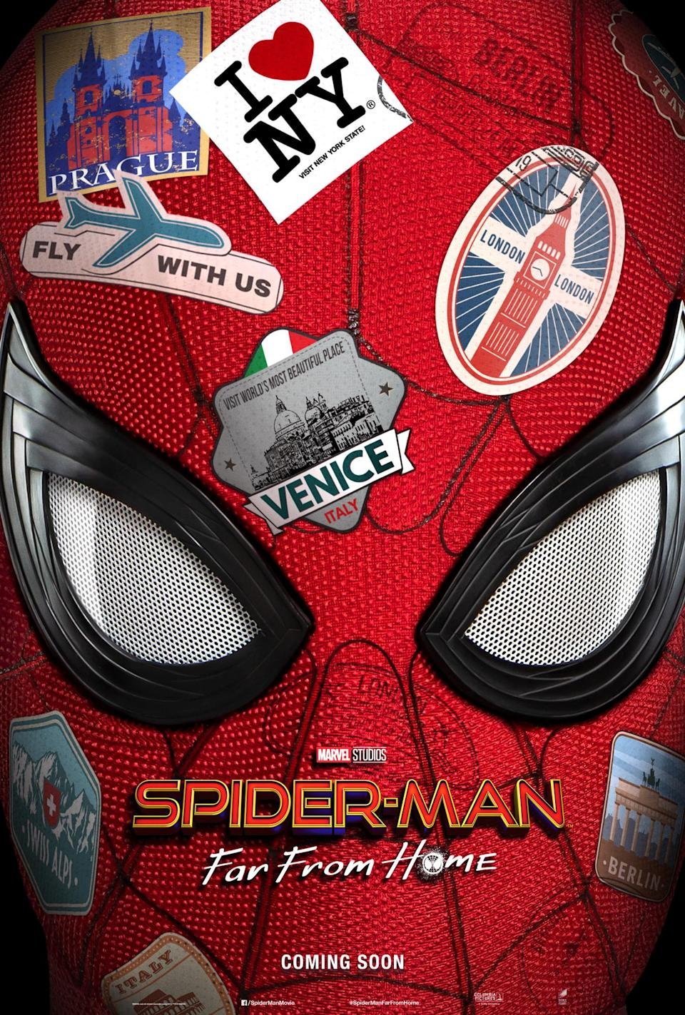 'Spider-Man: Far From Home' teaser poster (Sony Pictures)