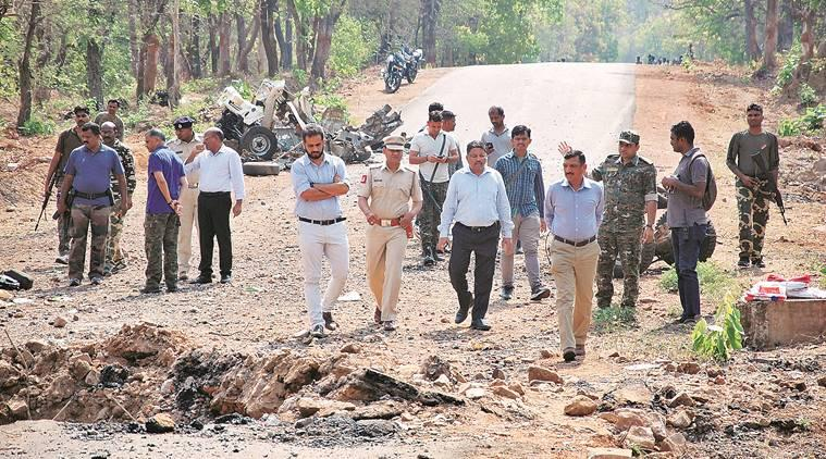Naxals claim responsibility for Gadchiroli blast, releases pamphlet