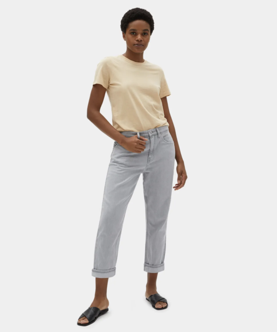 """Everlane calls these the brand's """"most comfortable jean yet."""" (Photo: Everlane)"""