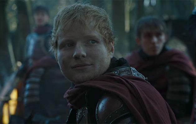 Ed in his big Game of Thrones moment. Source: HBO