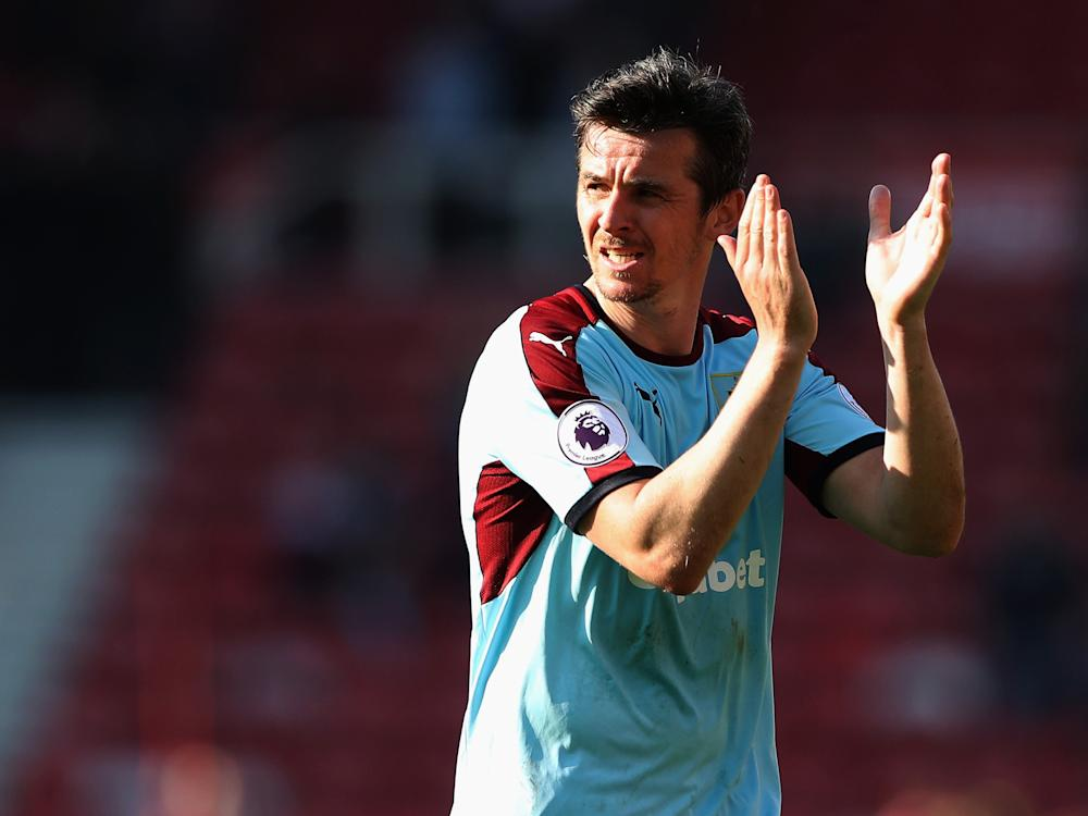 Joey Barton returned to Burnley in January after leaving Rangers: Getty