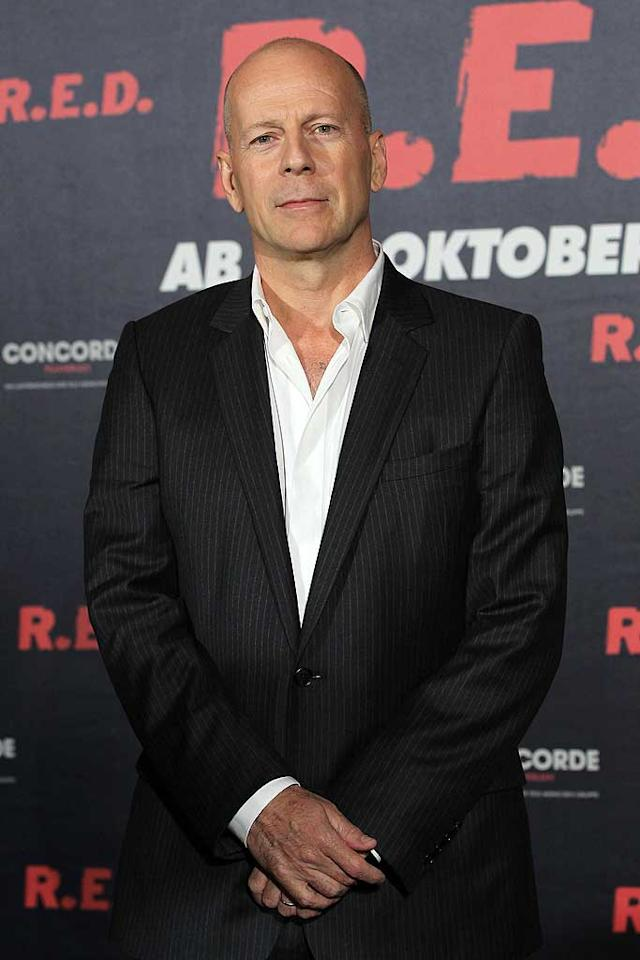 "March 19: Bruce Willis turns 56 Sean Gallup/<a href=""http://www.gettyimages.com/"" target=""new"">GettyImages.com</a> - October 18, 2010"